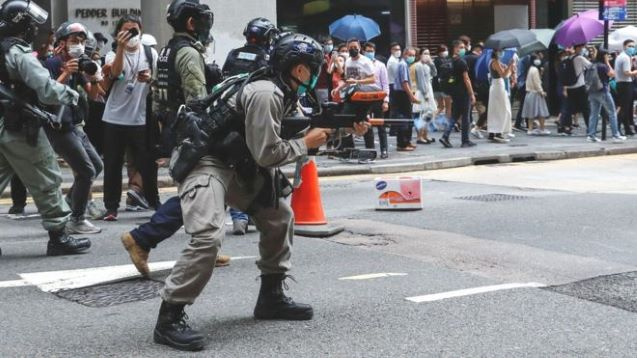 China fires a salvo of criticism at US on HK, protests, wanting to quit WHO