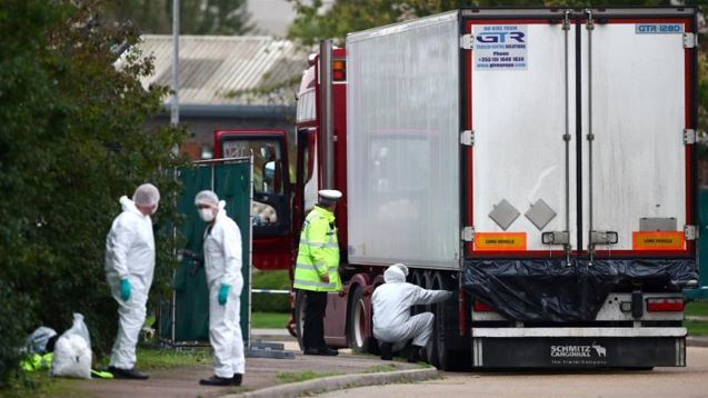 Belgium, France arrest dozens over UK migrant truck deaths