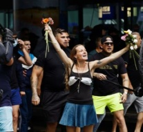 Dutch riot police fire water cannon to disperse rally against coronavirus restrictions, dozens arrested