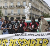 Anti-racism protests take place across France and the UK