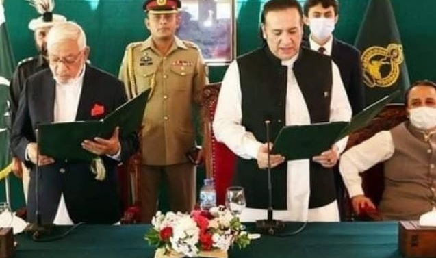 Kashmir: Mir Afzal sworn in as Gilgit-Baltistan caretaker chief minister