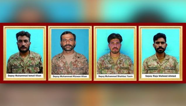 Pakistan: Four terrorists killed, four soldier martyred in North Waziristan, says ISPR