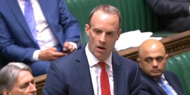 New UK sanctions could apply to Indians too: Dominic Raab