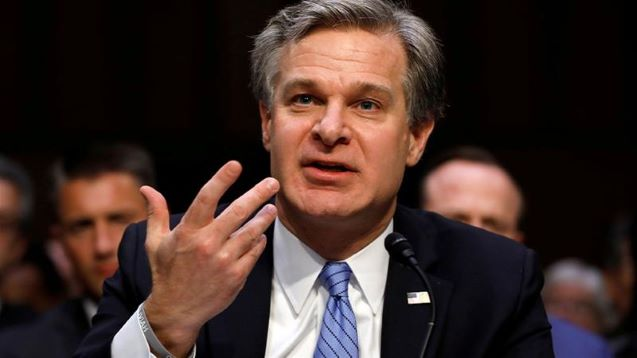 FBI chief says China threatens families of overseas critics in US