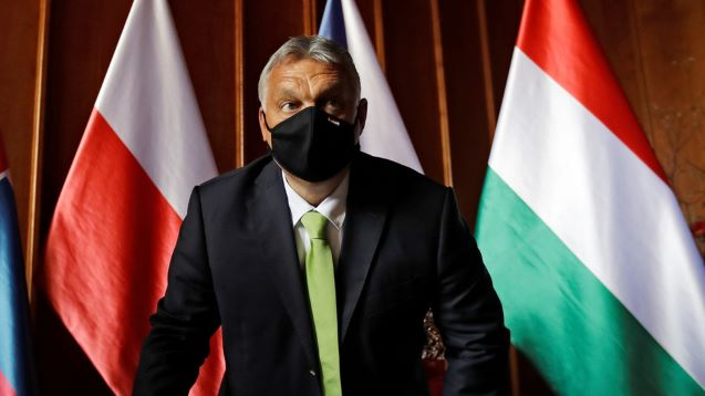 Hungary could veto EU rescue plan 'if conditioned on rule of law,' Orban warns