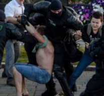 Police use live fire on Belarus protesters