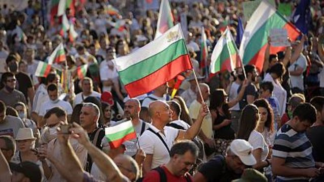 Bulgarian PM Borissov's offer to step down fails to deter protesters
