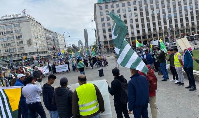 """Pakistan Community Forum Austria observed August 5th """" as a day of slidarity"""" with Kashmir"""