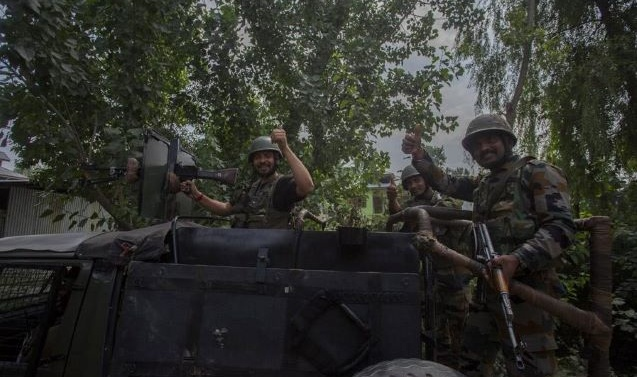 9-Day Old Militant Killed In Shopian Encounter