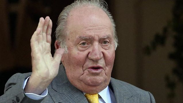 Spain's ex-king Juan Carlos, under investigation for corruption, says he is leaving the country