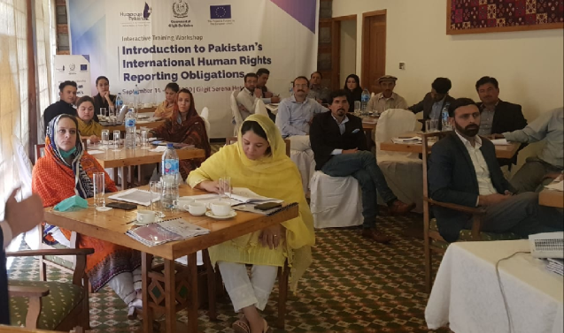 Kashmir: G-B to formulate first human rights policy